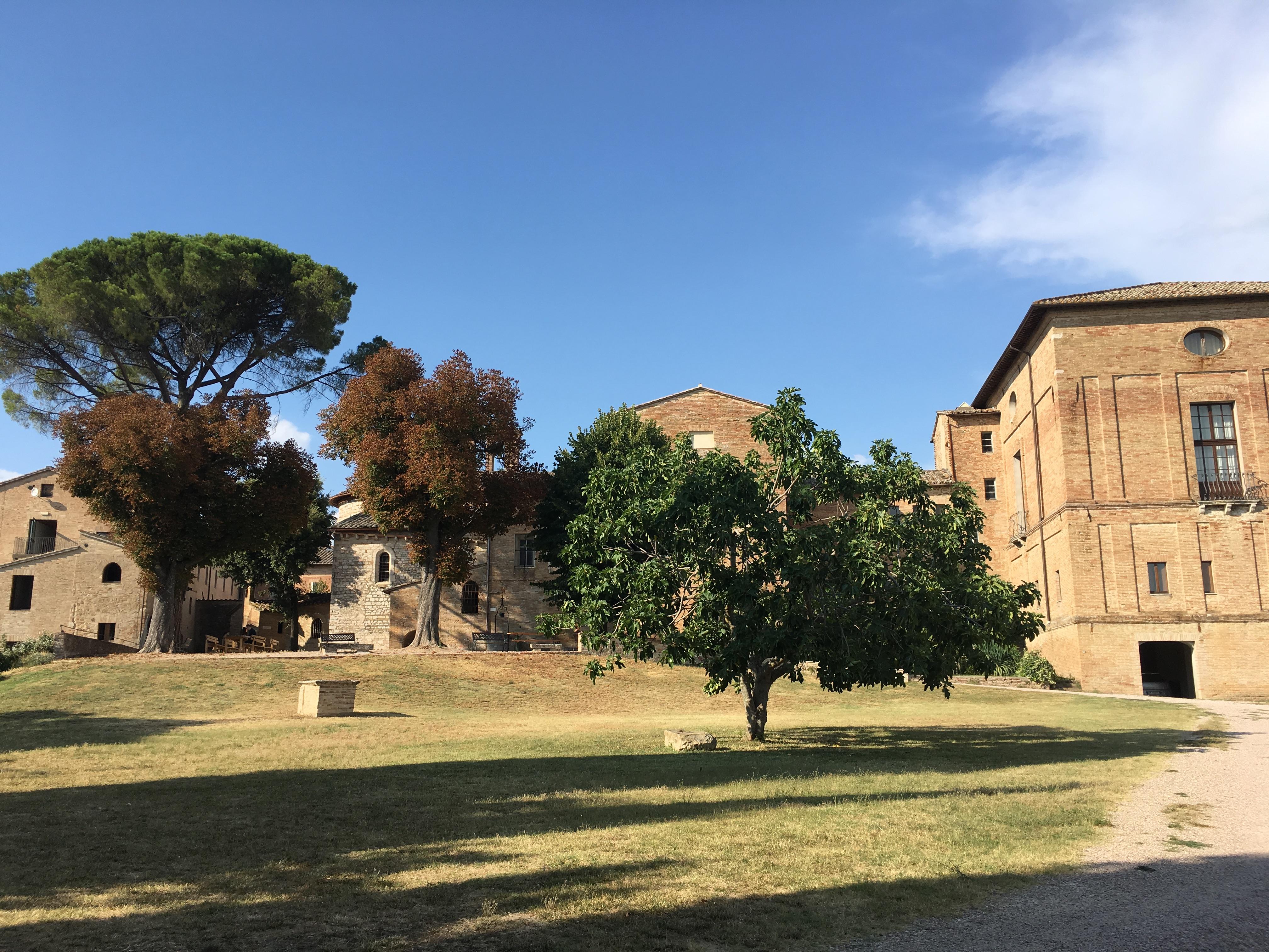 Perugia Klasztor Monteripido