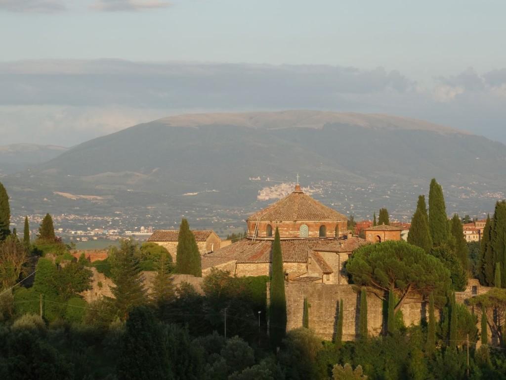 Perugia widok na Asyż