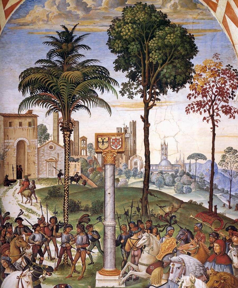 Siena - fresk