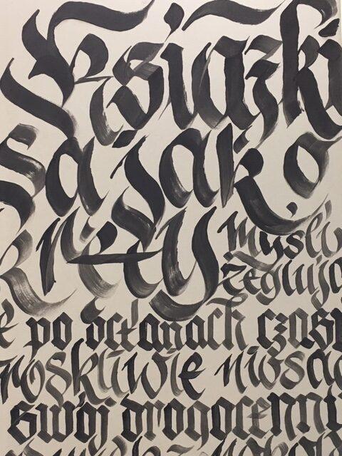 kaligrafia Akwartone